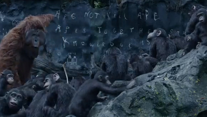 Resensi Film Dawn Of The Planet Of The Apes 2014 Ristiirawan