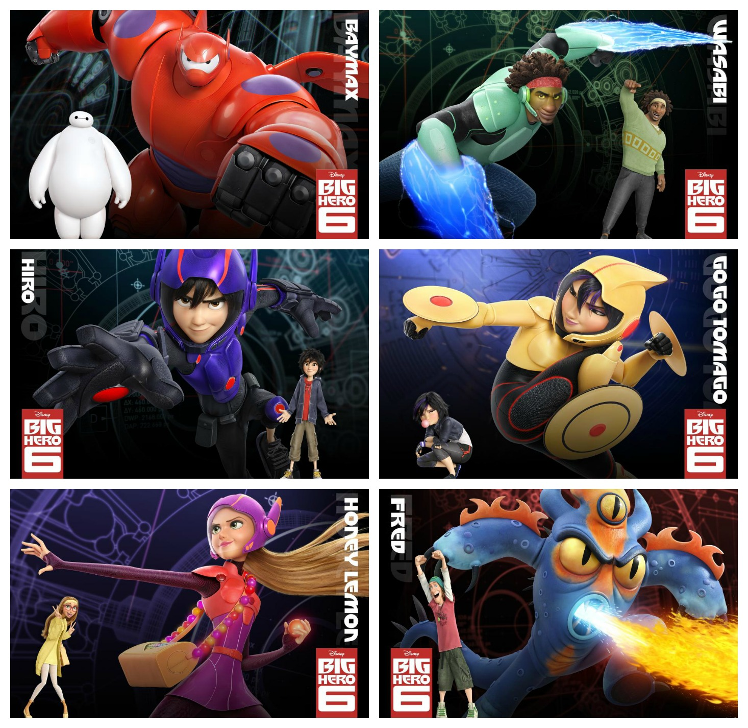 Big Hero 6 Cartoon Characters Names : Big hero fimfiction